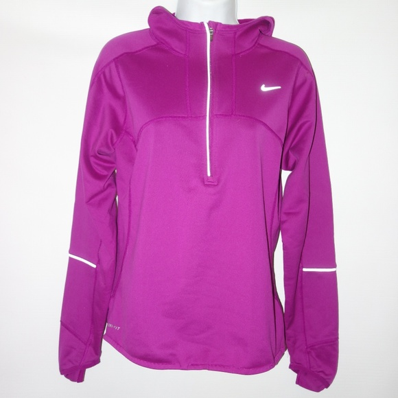 Hooded S14 Top Hand Nike Zip Cover Purple Women QsCthdr